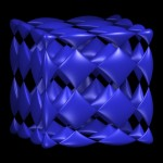 A Chmutov Surface with Many Singularities, visualization 2002 by MO-Labs